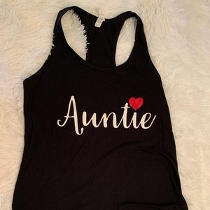 Auntie Tank Top Woman's Size Large